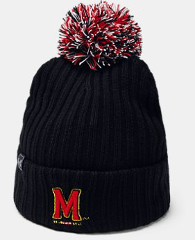 New Arrival UA Pom Beanie Collegiate  1  Color Available $30
