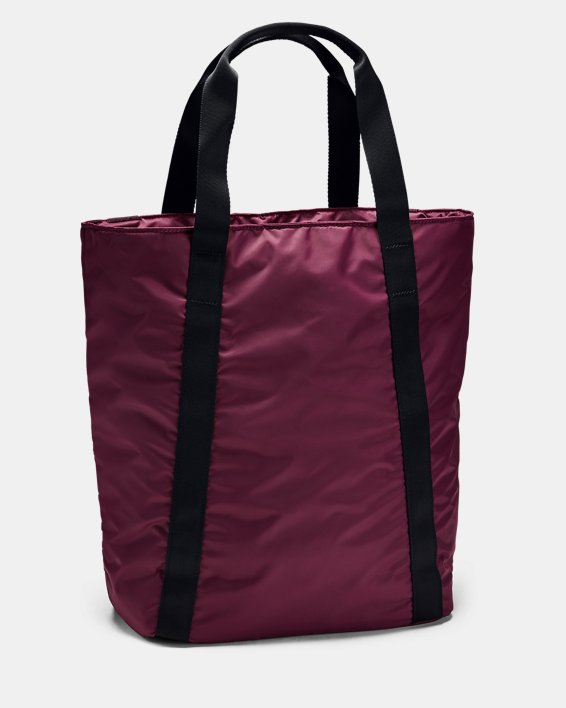 Women's UA Essentials Zip Tote, Purple, pdpMainDesktop image number 2