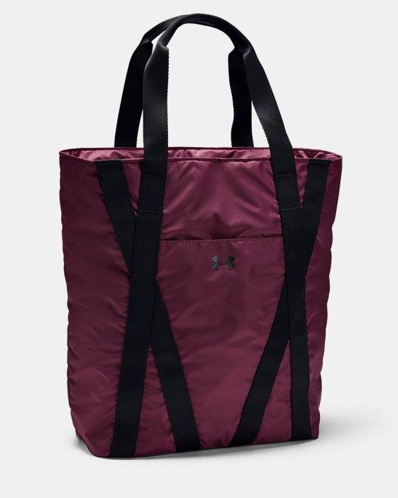 Women's UA Essentials Zip Tote, Purple, pdpMainDesktop image number 1