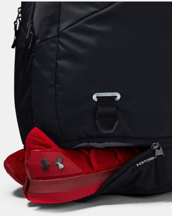 UA Hustle 4.0 Backpack, Black, pdpMainDesktop image number 5