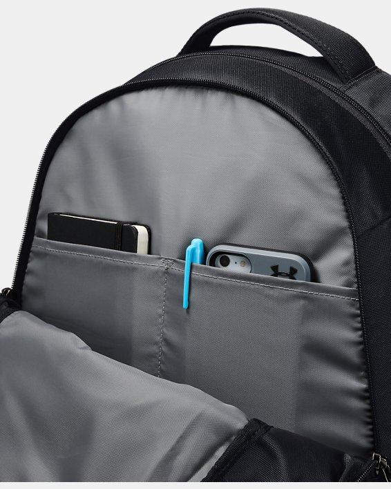 UA Hustle 4.0 Backpack, Black, pdpMainDesktop image number 3