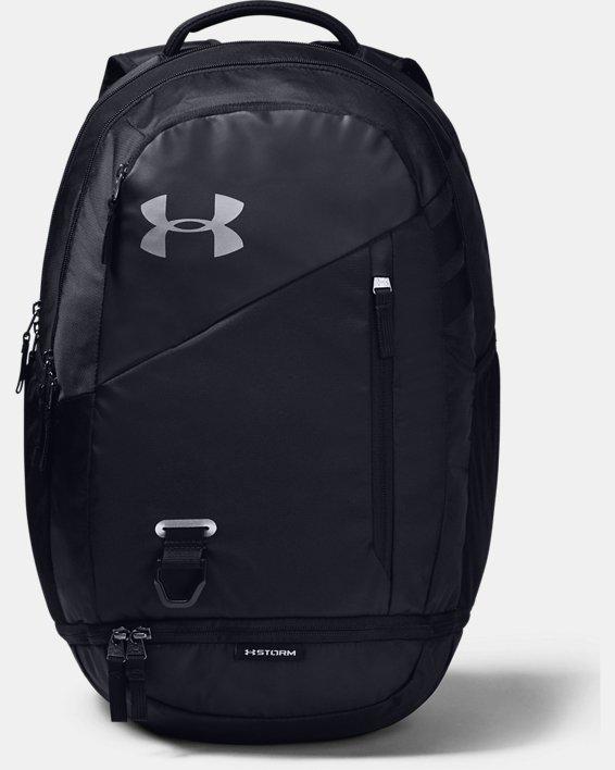 UA Hustle 4.0 Backpack, Black, pdpMainDesktop image number 1