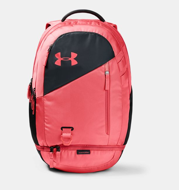 UA Hustle 4.0 Backpack, Watermelon, , Watermelon, Click to view full size