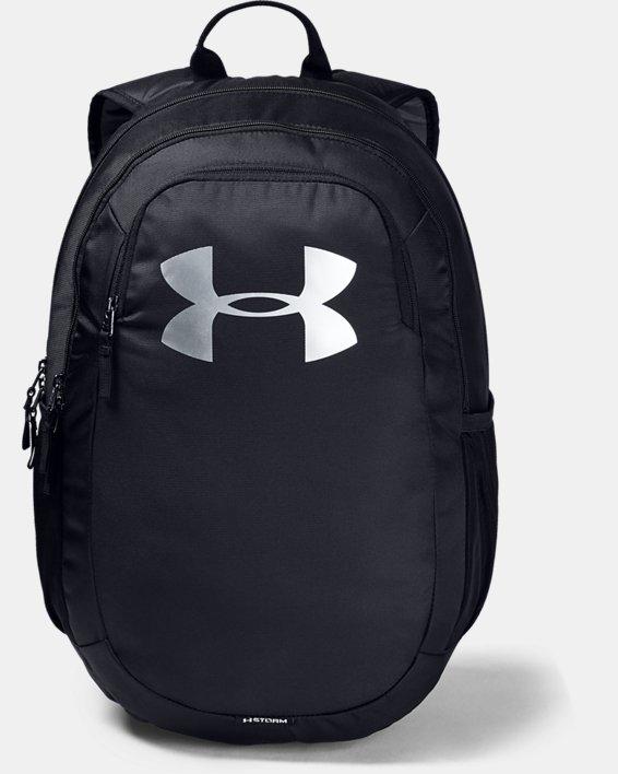 Youth UA Scrimmage 2.0 Backpack, Black, pdpMainDesktop image number 0