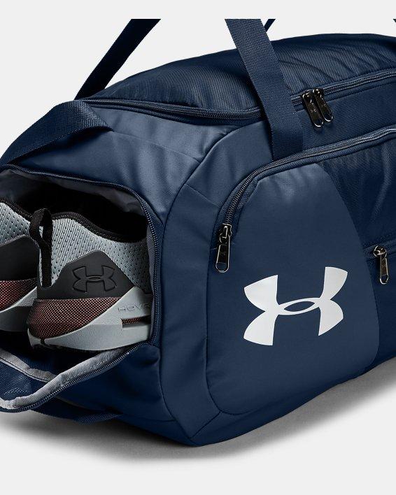 UA Undeniable 4.0 Small Duffle Bag, Navy, pdpMainDesktop image number 3