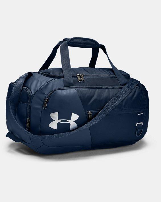UA Undeniable 4.0 Small Duffle Bag, Navy, pdpMainDesktop image number 1