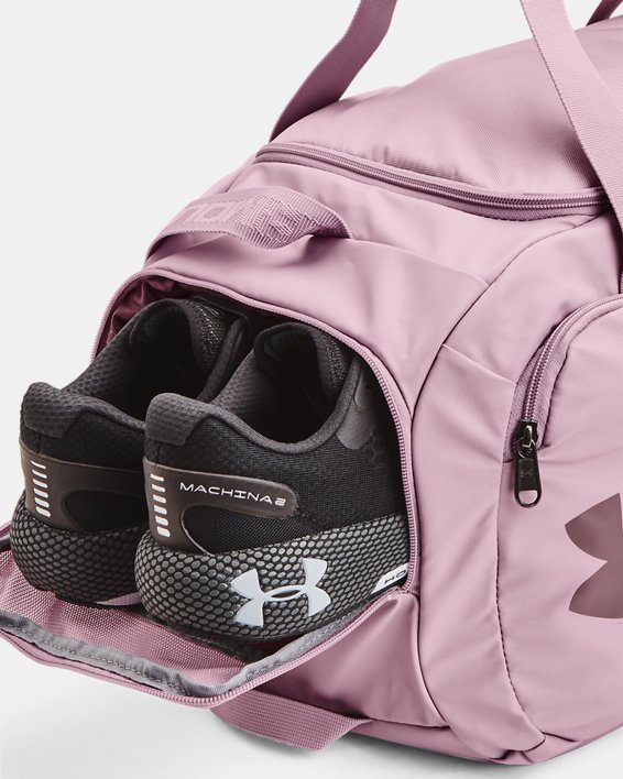 UA Undeniable 4.0 Small Duffle Bag, Pink, pdpMainDesktop image number 4
