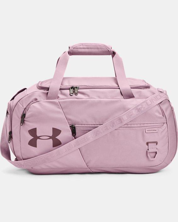 UA Undeniable 4.0 Small Duffle Bag, Pink, pdpMainDesktop image number 1