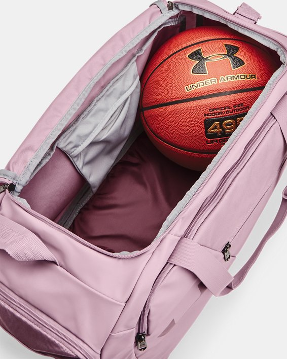 UA Undeniable 4.0 Small Duffle Bag, Pink, pdpMainDesktop image number 3