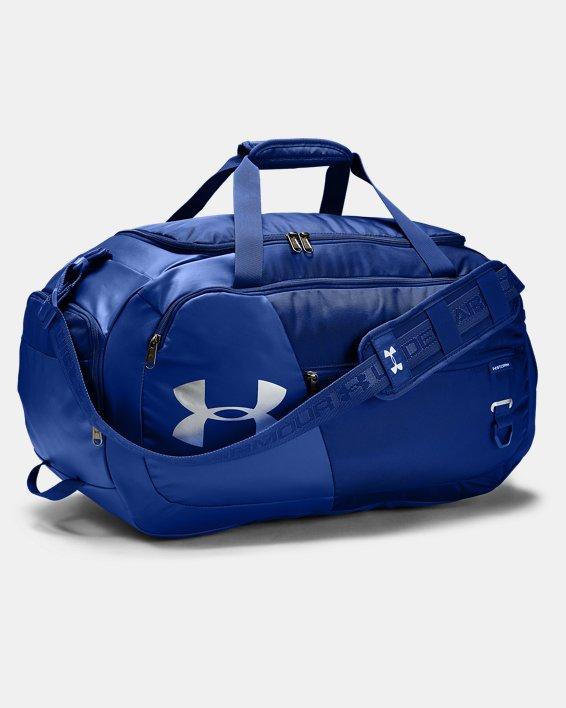 UA Undeniable Duffle 4.0 Medium Duffle Bag, Blue, pdpMainDesktop image number 0