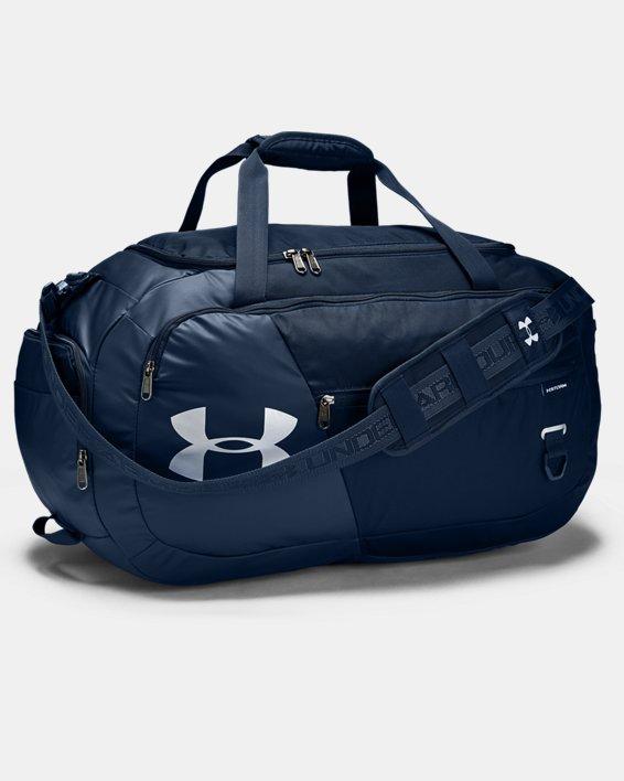UA Undeniable Duffle 4.0 Medium Duffle Bag, Navy, pdpMainDesktop image number 1