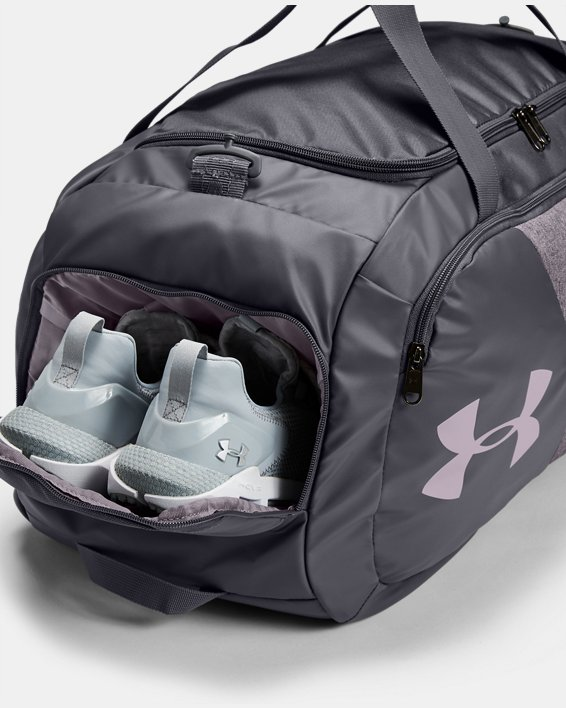UA Undeniable Duffle 4.0 Medium Duffle Bag, Purple, pdpMainDesktop image number 2