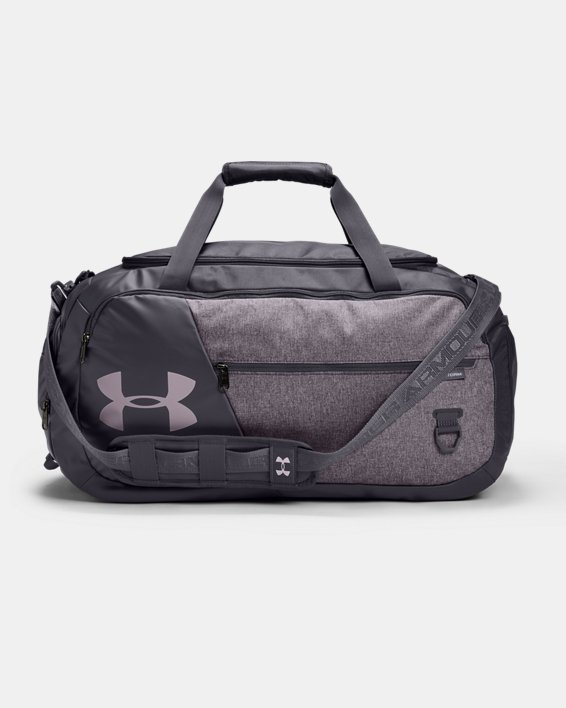 UA Undeniable Duffle 4.0 Medium Duffle Bag, Purple, pdpMainDesktop image number 0
