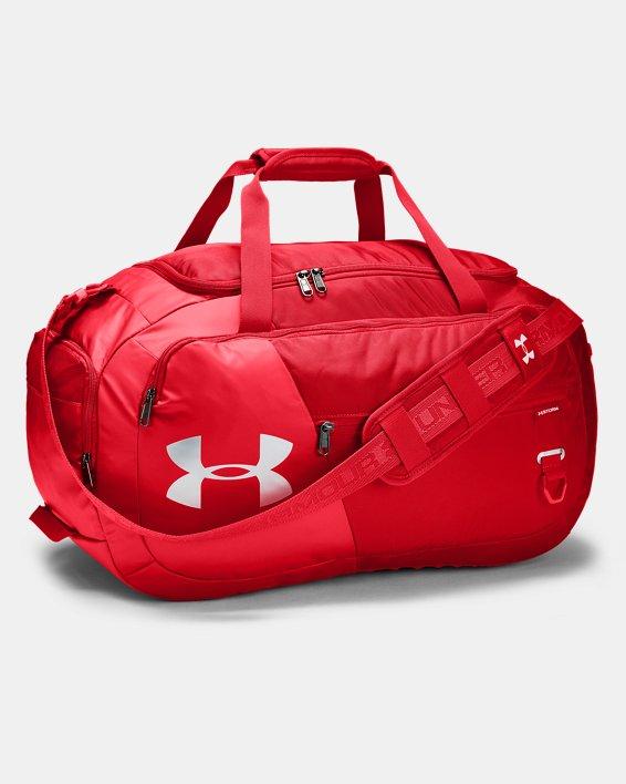 UA Undeniable Duffle 4.0 Medium Duffle Bag, Red, pdpMainDesktop image number 1