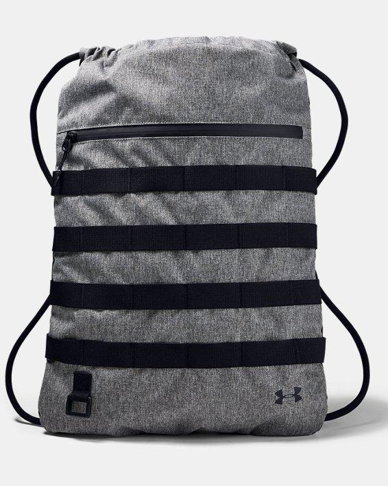 UA Sportstyle Sackpack, Gray, pdpMainDesktop image number 1