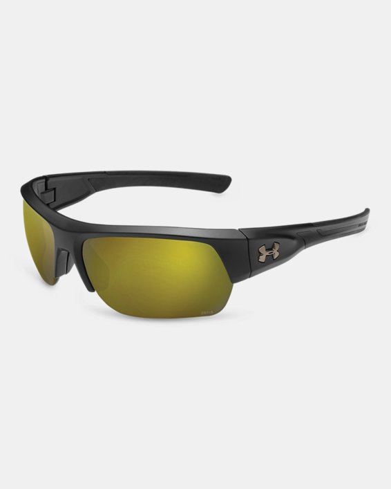 Men's UA TUNED™ Shoreline Polarized Big Shot  Sunglasses, Black, pdpMainDesktop image number 0