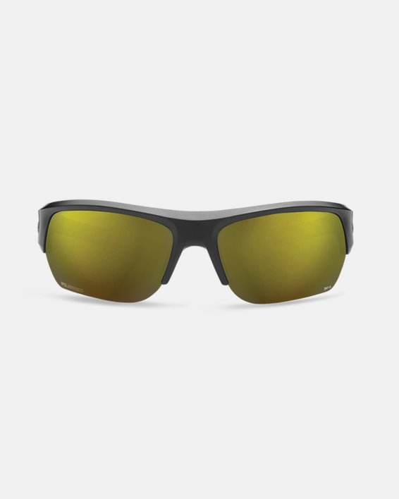 Men's UA TUNED™ Shoreline Polarized Big Shot  Sunglasses, Black, pdpMainDesktop image number 2