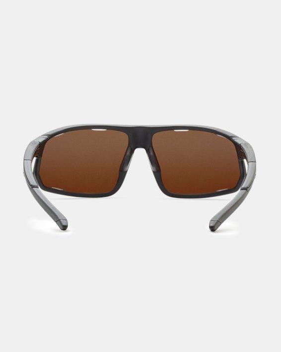 Men's UA TUNED™ Road Strive Sunglasses, Black, pdpMainDesktop image number 1