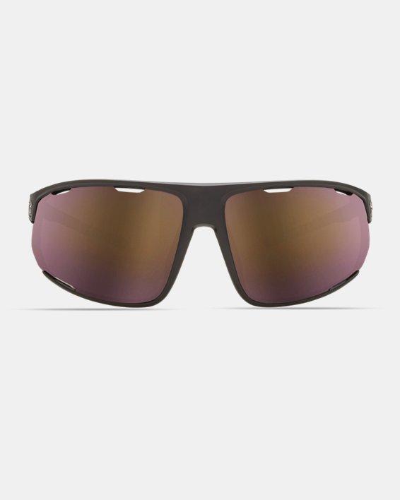 Men's UA TUNED™ Road Strive Sunglasses, Black, pdpMainDesktop image number 2