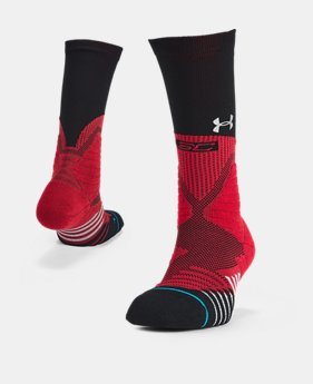 New Arrival UA x Stance Curry 5 Crew Socks FREE U.S. SHIPPING 1  Color Available $20