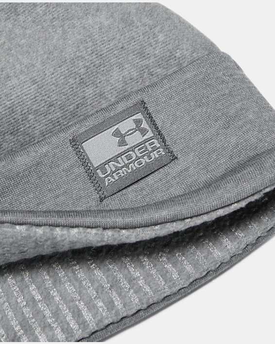Bonnet UA ColdGear® Infrared Fleece pour homme, Gray, pdpMainDesktop image number 2