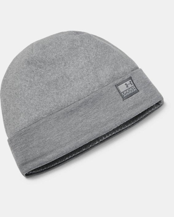 Bonnet UA ColdGear® Infrared Fleece pour homme, Gray, pdpMainDesktop image number 0