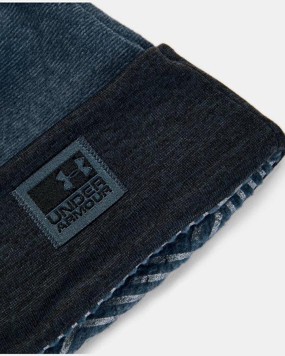 Herren Beanie UA ColdGear® Infrared-Fleece, Blue, pdpMainDesktop image number 2