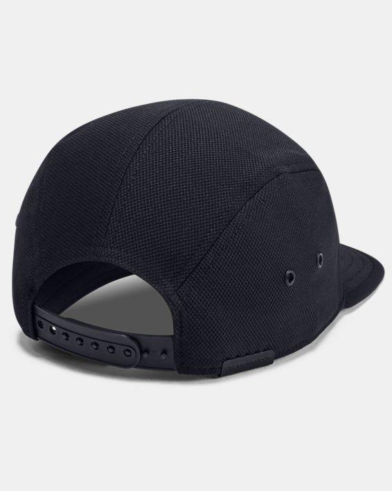 Men's UA Textured Camper Cap, Black, pdpMainDesktop image number 1