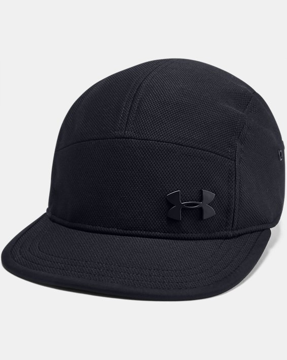 Men's UA Textured Camper Cap, Black, pdpMainDesktop image number 0