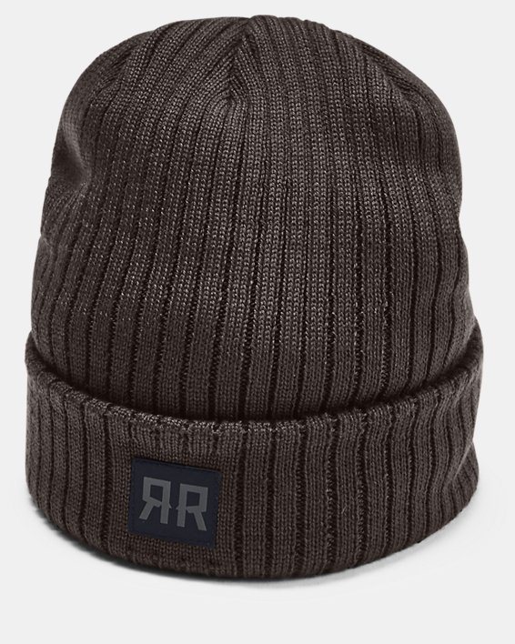 Men's UA PrimaLoft® Ridge Reaper Hunt Beanie, Brown, pdpMainDesktop image number 0