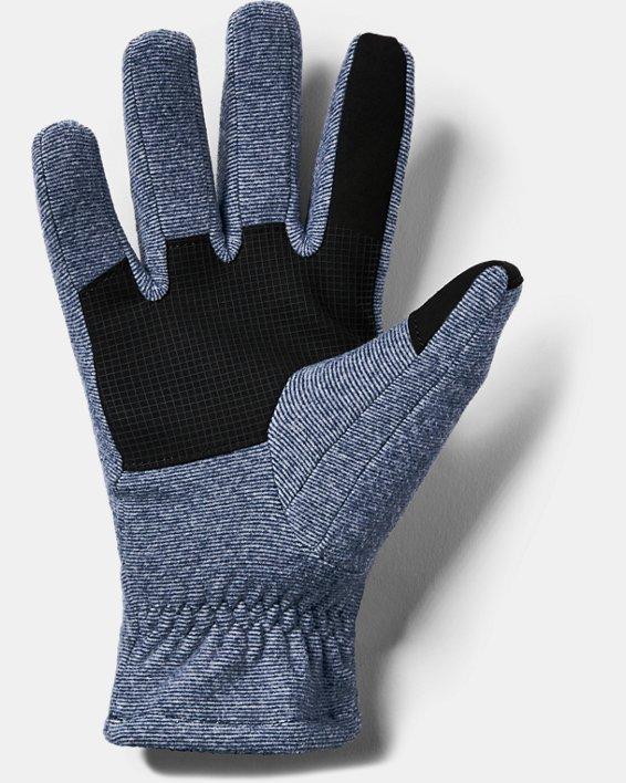 Men's ColdGear® Infrared Fleece Gloves, Navy, pdpMainDesktop image number 1
