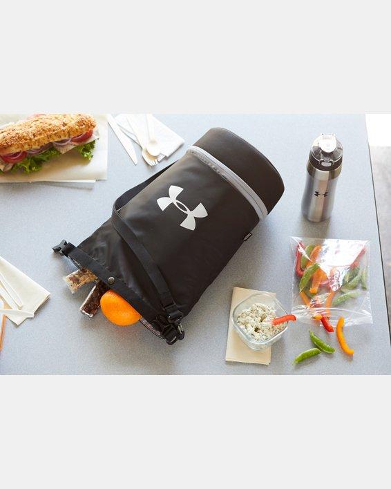 UA Dual Compartment Lunch Bag, Black, pdpMainDesktop image number 3