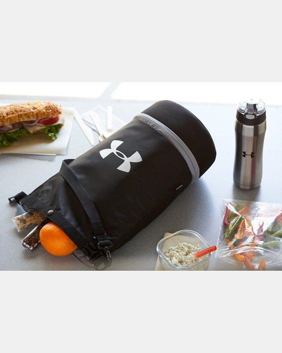 UA Dual Compartment Lunch Bag, Black, pdpMainDesktop image number 4