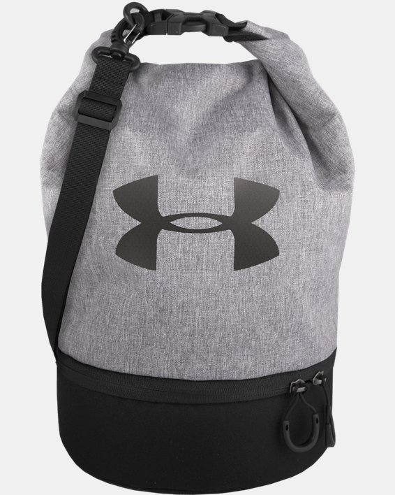 UA Dual Compartment Lunch Bag, Gray, pdpMainDesktop image number 0
