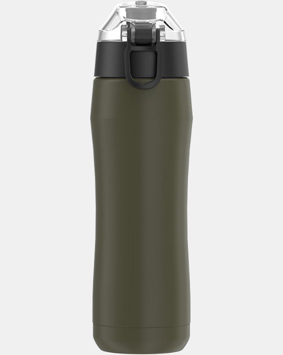 UA Freedom Beyond 18 oz. Water Bottle, Green, pdpMainDesktop image number 1