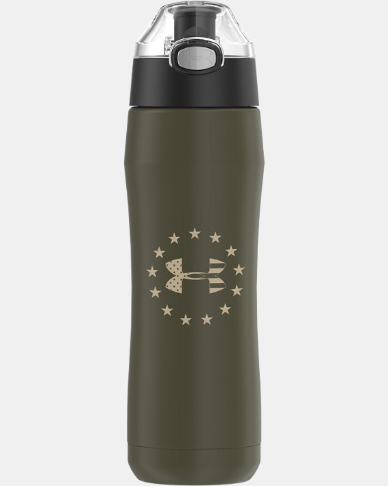 UA Freedom Beyond 18 oz. Water Bottle, Green, pdpMainDesktop image number 0