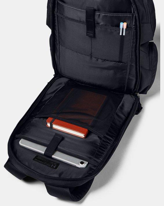 UA Travel Backpack, Black, pdpMainDesktop image number 3