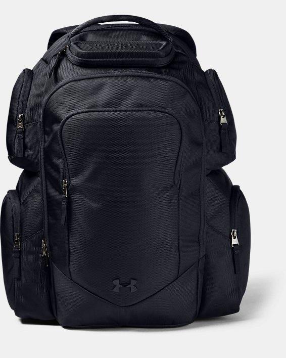 UA Travel Backpack, Black, pdpMainDesktop image number 1