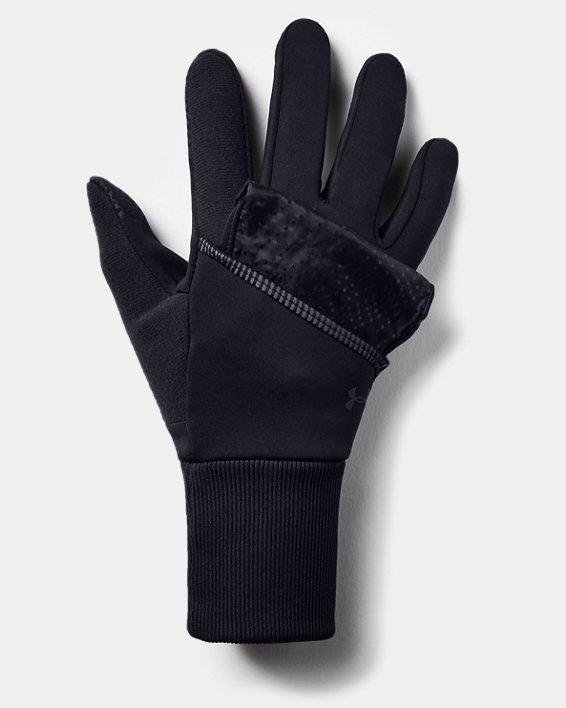 Gants UA Run Convertible pour femme, Black, pdpMainDesktop image number 2