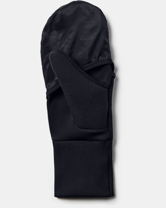 Gants UA Run Convertible pour femme, Black, pdpMainDesktop image number 1