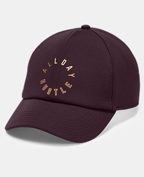 New Arrival Women's UA x Project Rock All Day Hustle Cap  1  Color Available $30