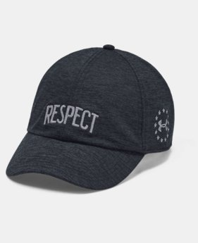 New Arrival Women's UA x Project Rock Respect Cap  1  Color Available $30