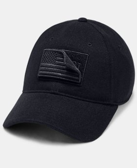 New Arrival Men's UA x Project Rock Veterans Day Cap  1  Color Available $30