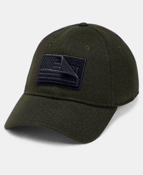 New Arrival Men's UA x Project Rock Veterans Day Cap  2  Colors Available $30