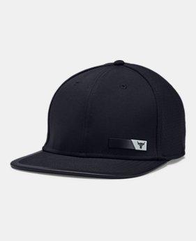 Men s UA x Project Rock Flat Brim Cap 1 Color Available  40 91bf09241ae3