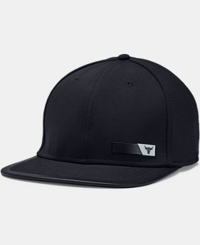 New Arrival Men's UA x Project Rock ADH Flat Brim Cap  1  Color Available $35