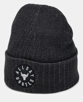 New Arrival Men's UA x Project Rock ADH Truckstop Beanie  1  Color Available $25