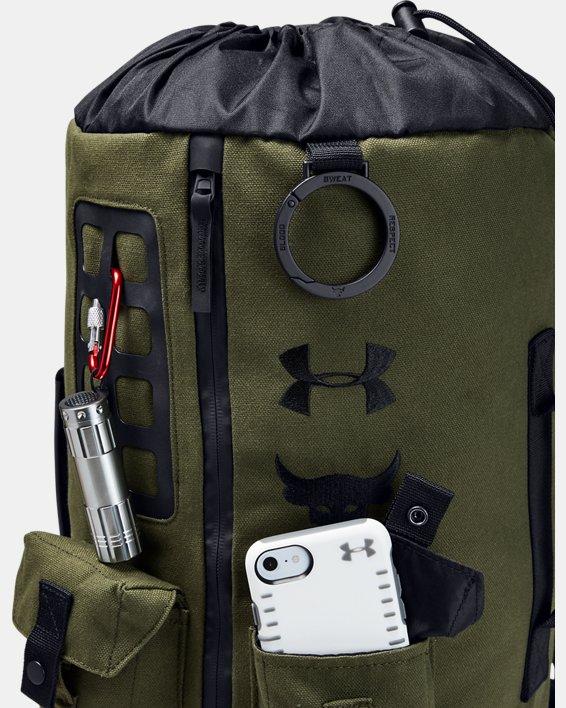 Men's Project Rock 60 Bag, Green, pdpMainDesktop image number 3