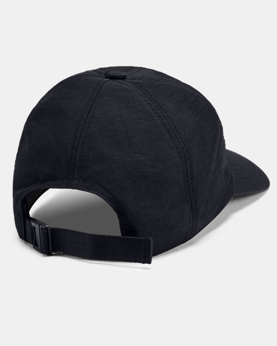 Boys' UA Atlas Woven Strapback Cap, Black, pdpMainDesktop image number 1