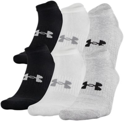 trainer socks; compression socks Under Armour Unisex UA Heatgear NS